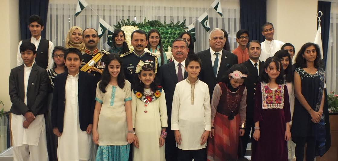Highest level gathering in Ankara in Pakistan Defence Day